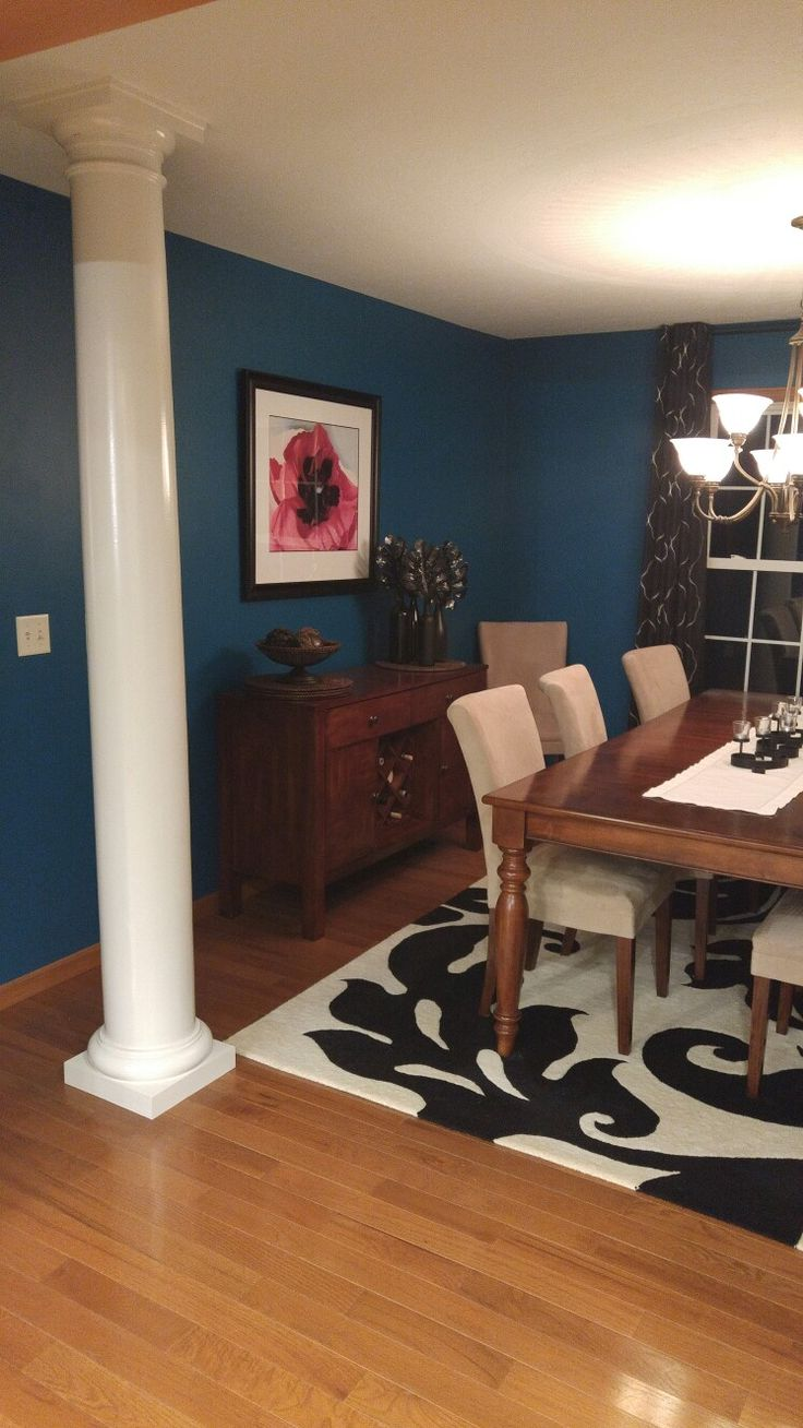 1000+ Ideas About Teal Dining Rooms On Pinterest