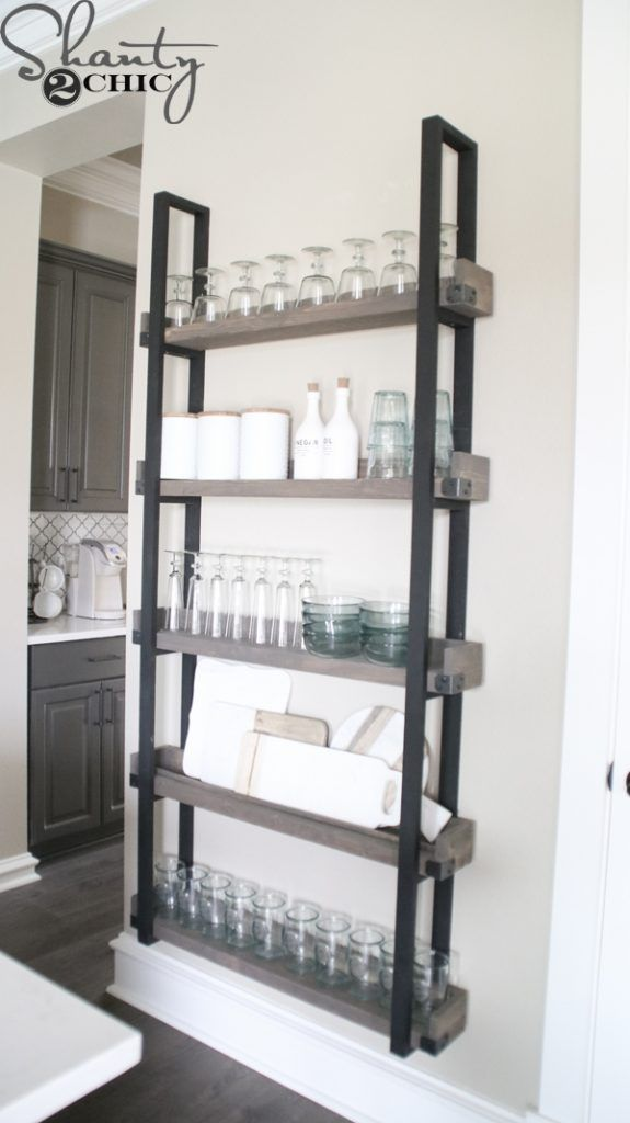 DIY Floating Plate Rack and How-To Video