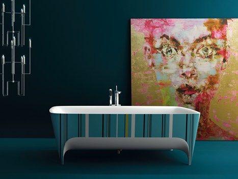 Teuco presents Accademia POP #bathtub Limited Edition. When #design meets art!