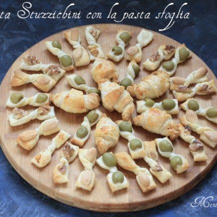 Ricetta Stuzzichini con la pasta sfoglia