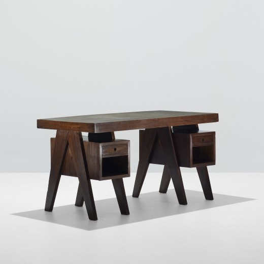 PIERREJEANNERET desk from the Administrative builidings,Chandigarh