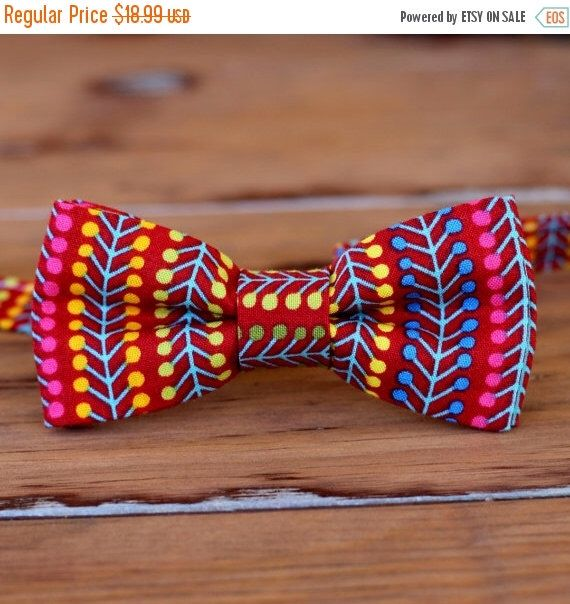 ON SALE 20% off Mens red party bow tie - preppy men's bow tie - multi red striped bow tie - bright bow ties - funky red bow tie - modern red by becauseimme on Etsy https://www.etsy.com/listing/229266555/on-sale-20-off-mens-red-party-bow-tie