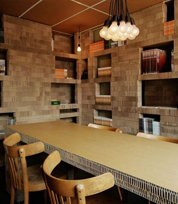 Corrugated board room!