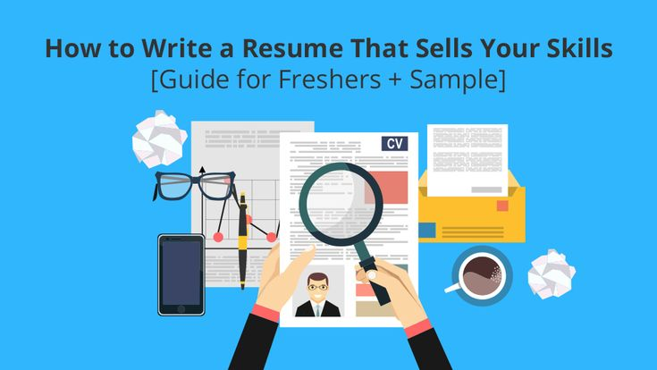 How to Write a Resume That Sells Your Skills + Sample for Freshers  #resume #resumesample #businesswriting