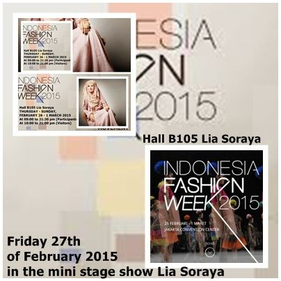 Fhasion Show Lia Soraya IFW 2015