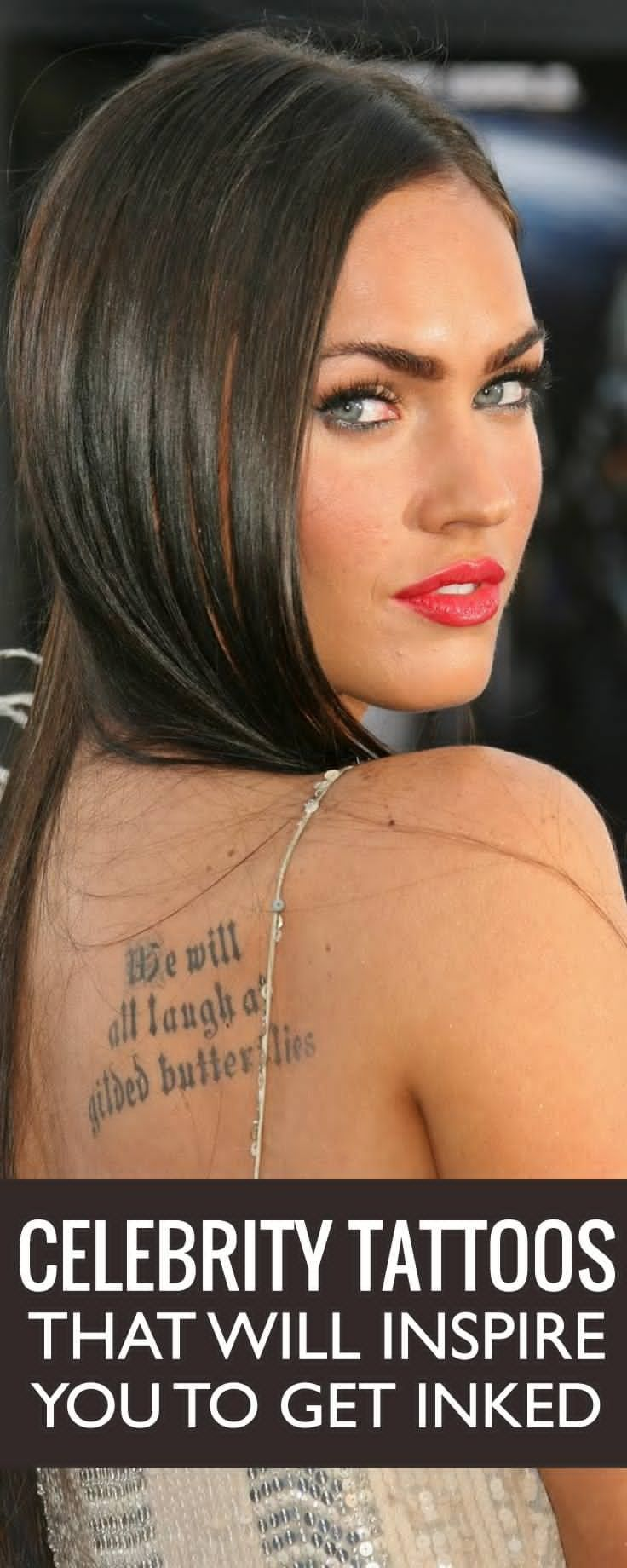 What could be the stories behind the tattoos of our Hollywood celebrities?