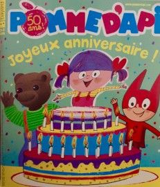 La couverture des 50 ans avec POB, Adélidélo et SamSam