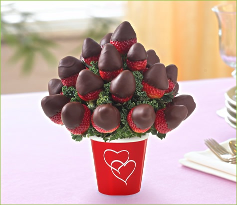 Chocolate Dipped Strawberry Bouquet Chocolate Dipped