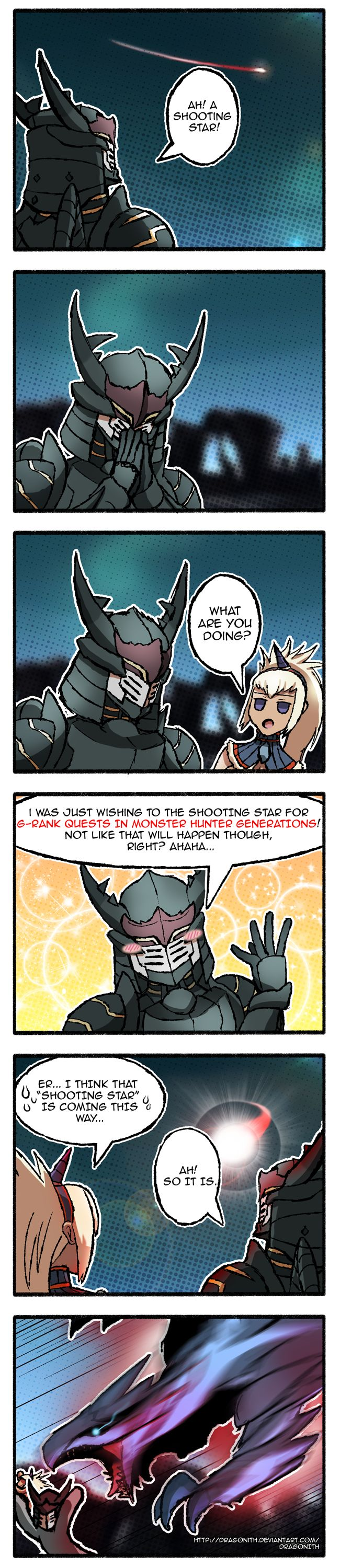 MHGen - Wish Upon a Star by Dragonith