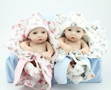 "2pcs Preemie Silicone Reborn Baby Dolls 11"" Wash Babys Twins Boy & Girl Toy Set in Speelgoed en spellen, Poppen, kleren, accessoires, Handgemaakte poppen | eBay"
