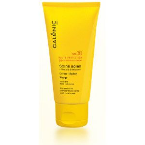Galenic Soins Soleil Creme Legere Visage Protection SPF30 40ml