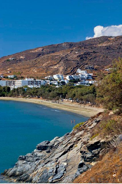 Kionia Beach, Tinos, Greece