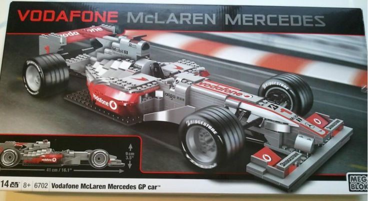 Mega Bloks - Vodafone McLaren Mercedes GP Car (6702)