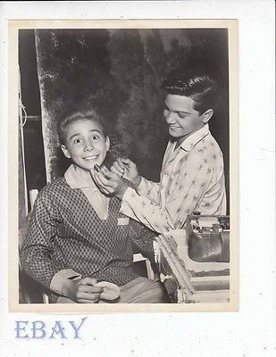 Johnny Crawford Paul Petersen VINTAGE Photo Donna Reed Show A Very Bright Boy