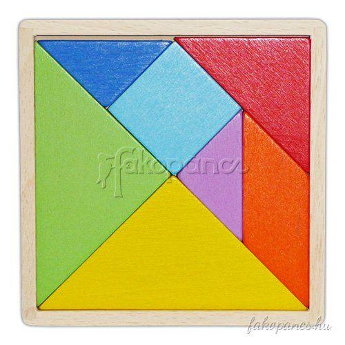 Főoldal :: Logikai játékok :: Logikai játékok kicsiknek :: Tangram (színes)