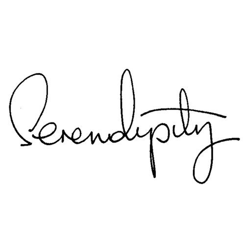 Serendipity (n.) Finding something good without looking for it. A happy accident.