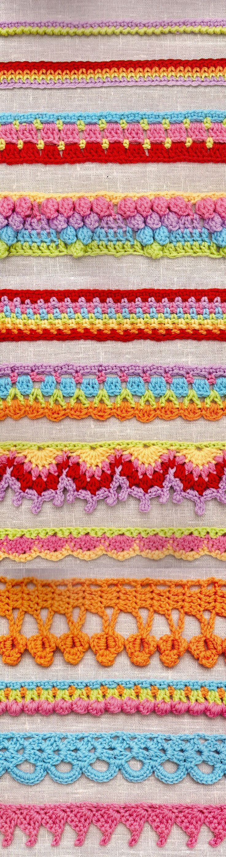 12 Border stitches – 12 Complete Patterns All in one PDF format file for  5.99 US $. What are you going to get: You are going to receive written  guidelines ...