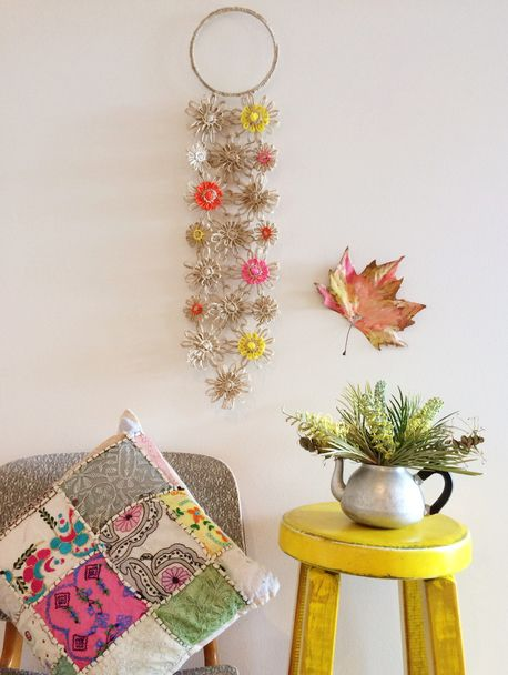 FlowerLoom Wall Hanging by NeekieNoo