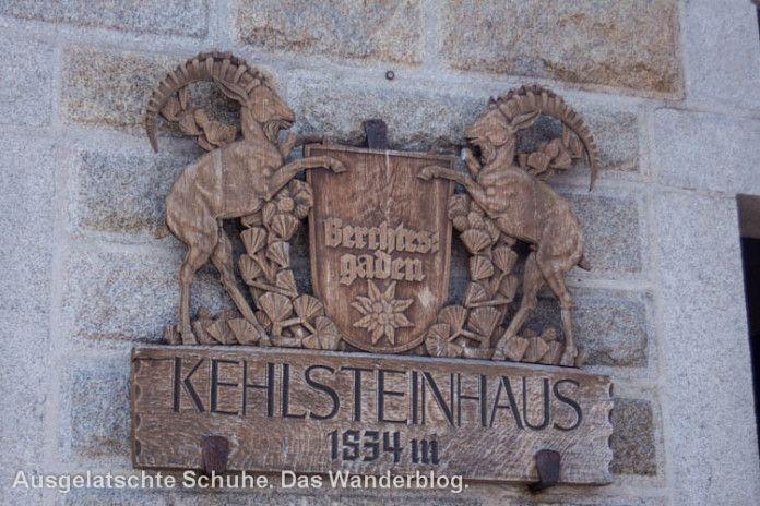 Kehlsteinhaus 1834 m. Das Kehlsteinhaus und der Obersalzberg - Teil 1. http://ausgelatschte-schuhe.de/kehlsteinhaus-berchtesgaden/