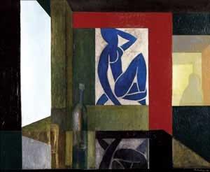 Interior with Matisse 1985 John Drawbridge
