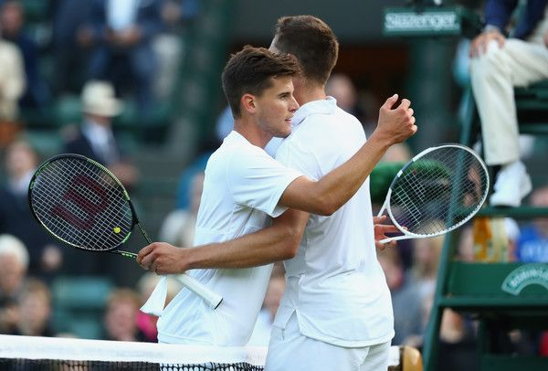Dominic Thiem Photos - Day Three: The Championships - Wimbledon 2016 - Zimbio