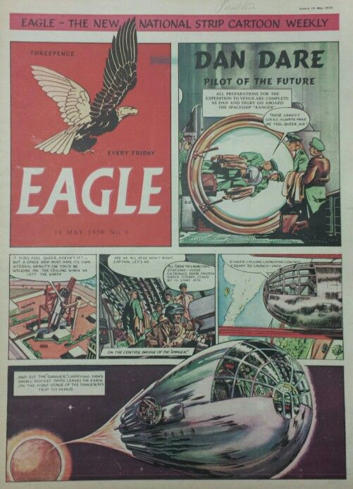 Dan Dare from Eagle Comic #6