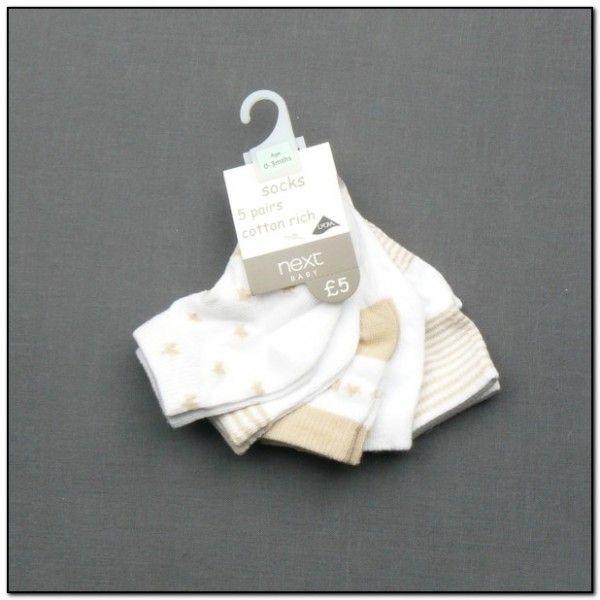 Kojenecké ponožky - 5 párů