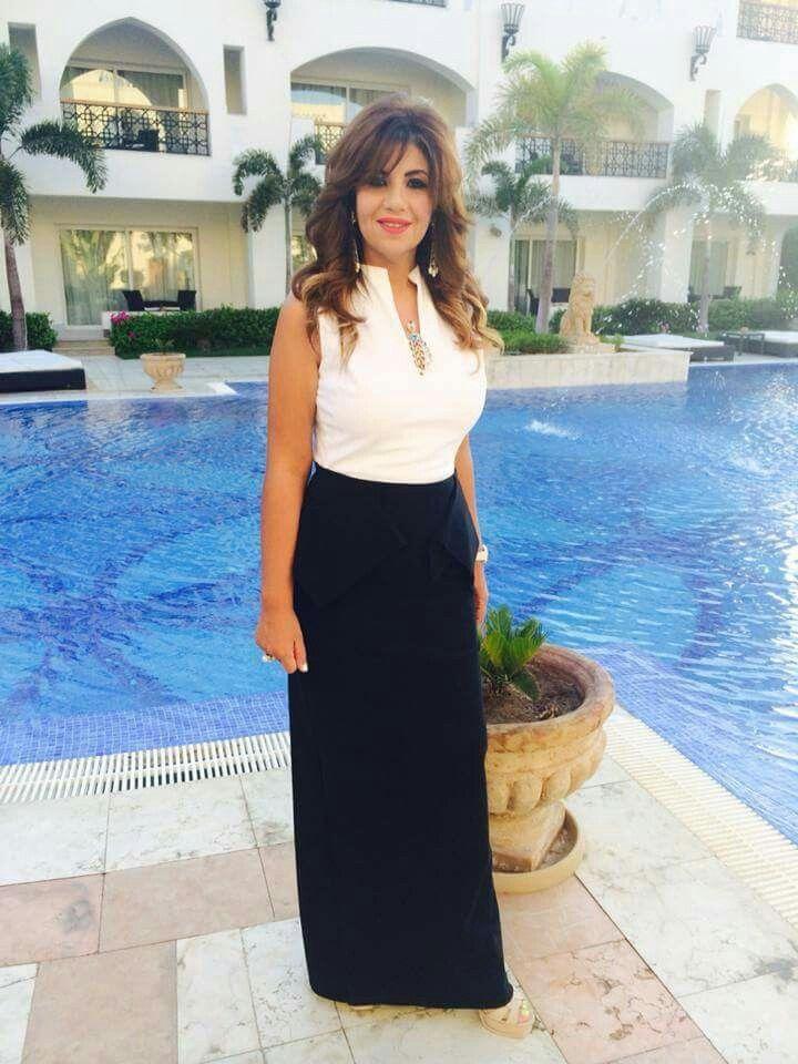 Poussy Shalaby Maxi Skirt Celebs Maxi