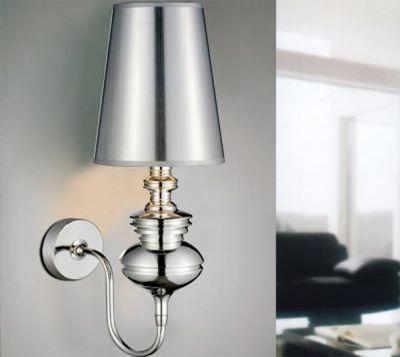 AZzardo Baroco - Vägglampa Silver