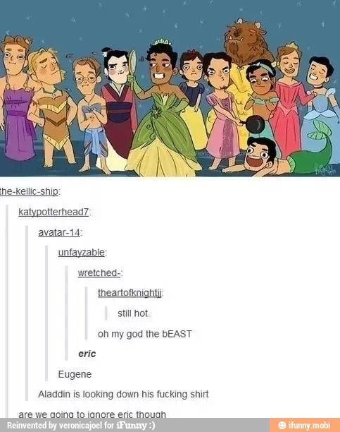 Disney Princes- why has someone does this?