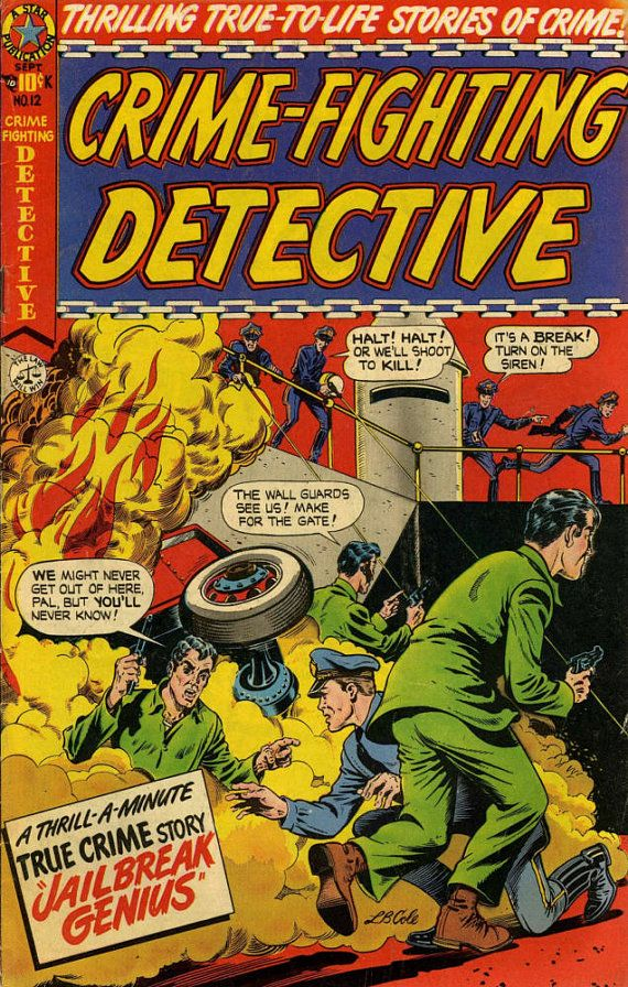 New item in my etsy shopCrime Fighting Detectives crime comic comic cover art 1950 reproduction by PanchromaticaDesigns. Find it here http://ift.tt/29VUJV5