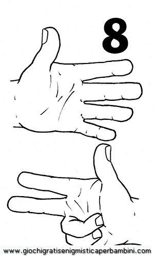 Numeri con le dita!