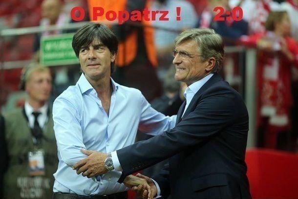 Adam Nawałka dziękuje po meczu Polska vs Niemcy • Loew popatrz już 2:0 • Zabawne memy • Śmieszne zdjęcie Loewa i Nawałki • Zobacz >>