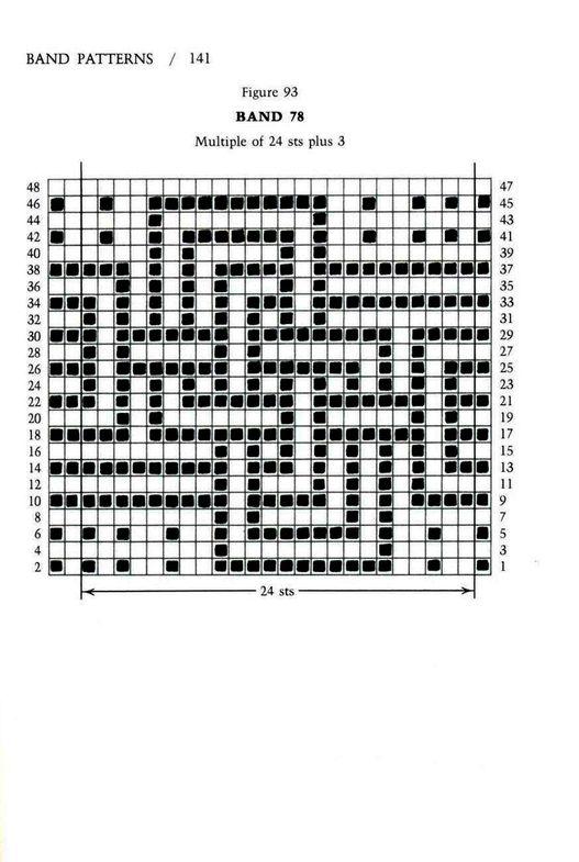Mosaic Knitting Barbara G. Walker (Lenivii gakkard) #146