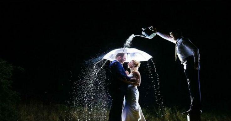 Φωτογραφίες γάμου πέρα από τις καθιερωμένες
