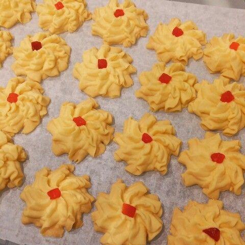Custard Cookies (Kuih Samperit)
