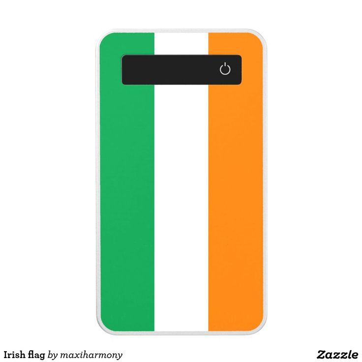 Irish flag power bank