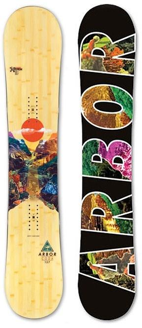Arbor Coda Snowboard - Snowboard Shop > Snowboards > Men's Snowboards