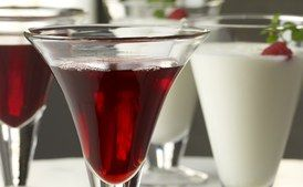 To Make an Excellent Cherry Bounce / Renee Comet/<em>Dining with the Washingtons</em>