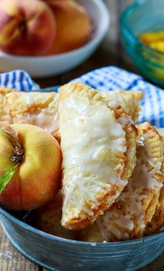 Southern Fried Peach Pies from @FMSCLiving