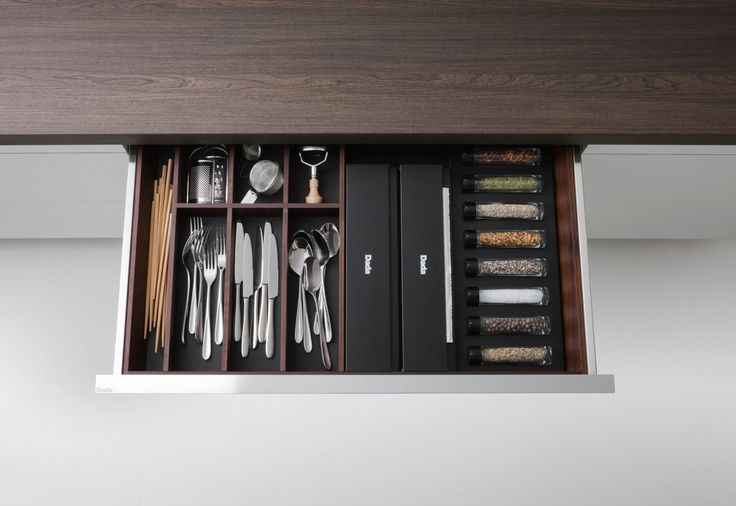 Drawer Insert- Herbs and Utensils kitchen drawer accessory organizers by Dada
