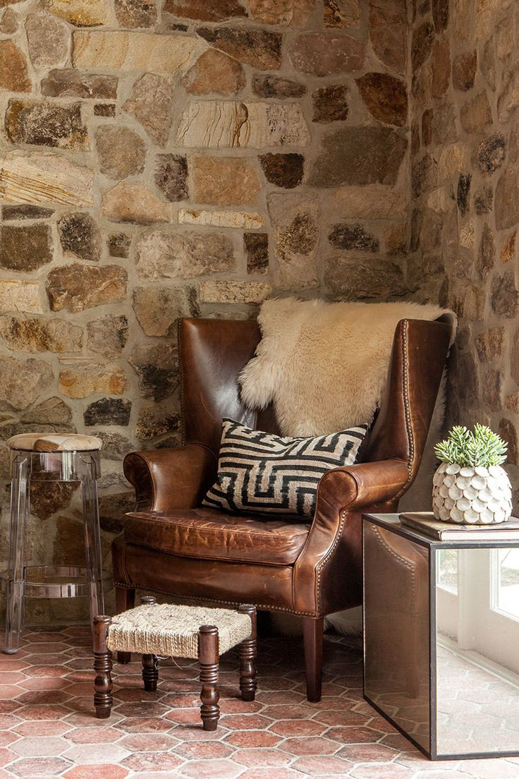Leather reading chairs - A California Lifestyle Rooted In Tradition