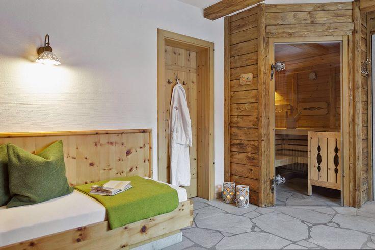 Wellness-Genuss im Chalet mit privater Sauna // Wellness enjoyment in the chalet with private sauna