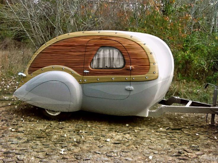 Aerolux Teardrop Trailer. 119 best Camping images on Pinterest   Caravan  Vintage trailers