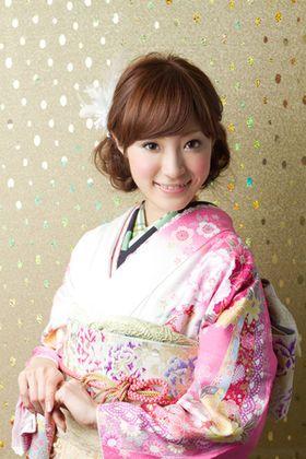 【成人式】2015年向け♡最新振袖ヘアスタイルまとめ。【髪型】 - NAVER まとめ
