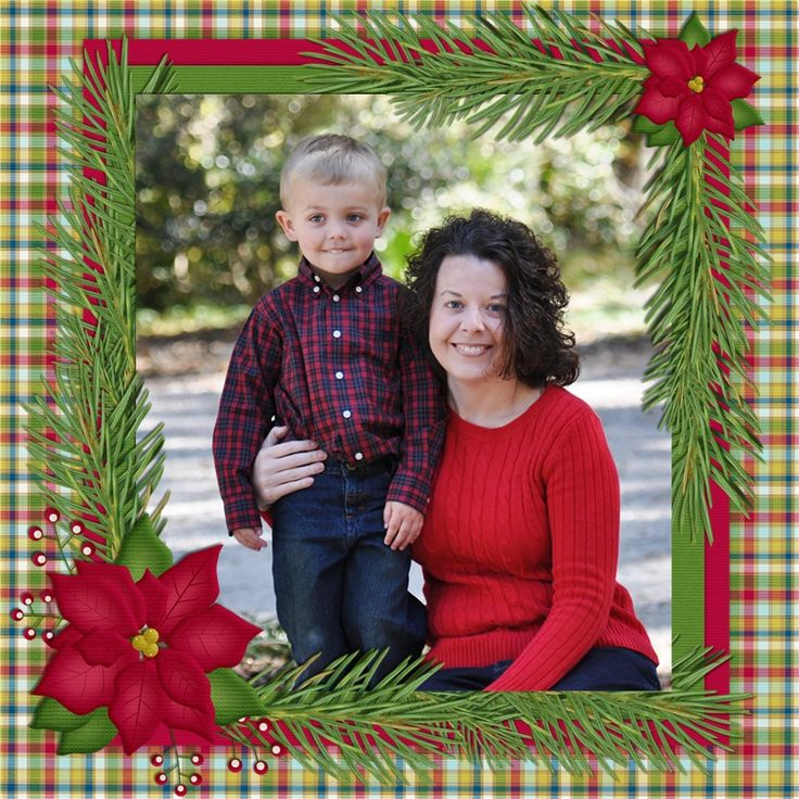 Michael & Mommy - Scrapbook.com