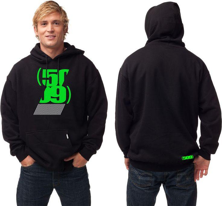 509 - Split Pullover Hoody