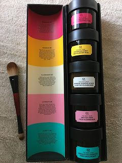 Beautify: THE BODY SHOP FIVE AT HOME MASK MULTIMASKING AND REVIEW