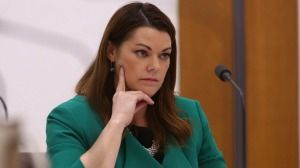 Greens senator Sarah Hanson-Young referred the office of former Immigration Minister Scott Morrison over the alleged release of Nauru information to a journalist.  Federal government asks Australian Federal Police to find Nauru whistleblowers | smh.com.au