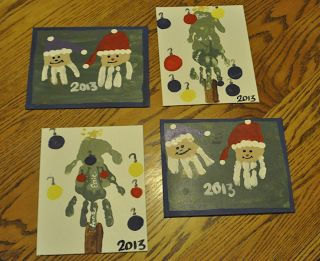 Anna And Essie: Handprint Christmas Crafts For Kids